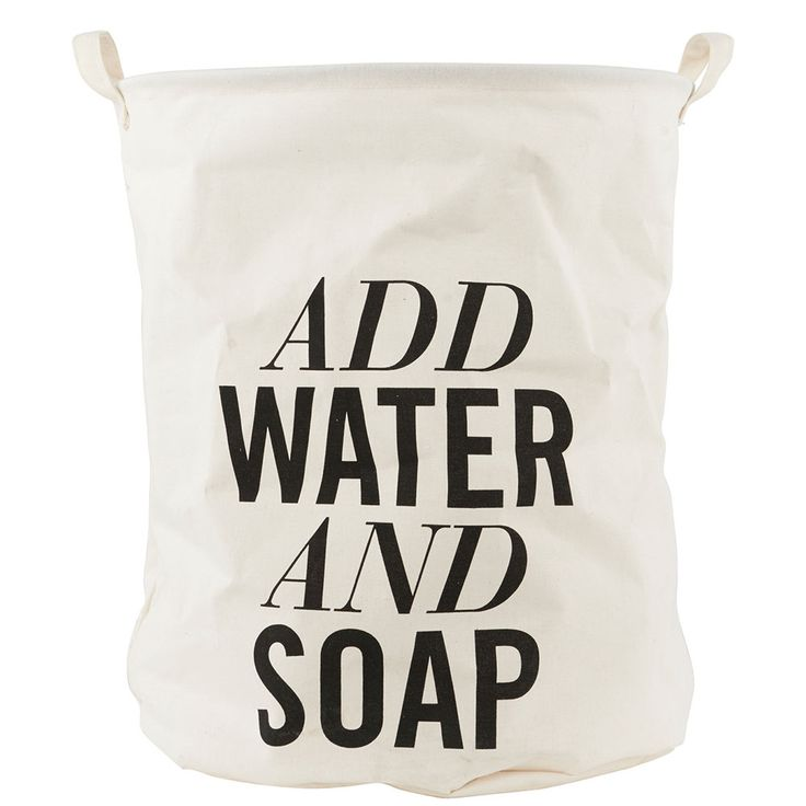 Add Water And Soap Panier à linge, House Doctor