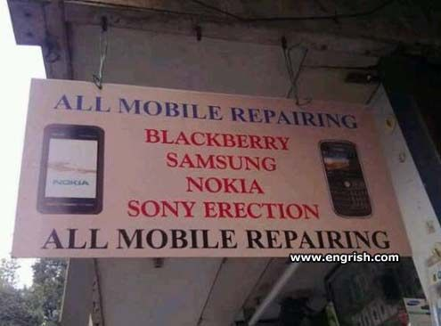 All mobile erections repaired...: Sony Erection, Funny Pics, Funny Pictures, Funny Repair, Funny Stuff, Funny Photos, Funny Animal Humor, Erection Funny, Mobile