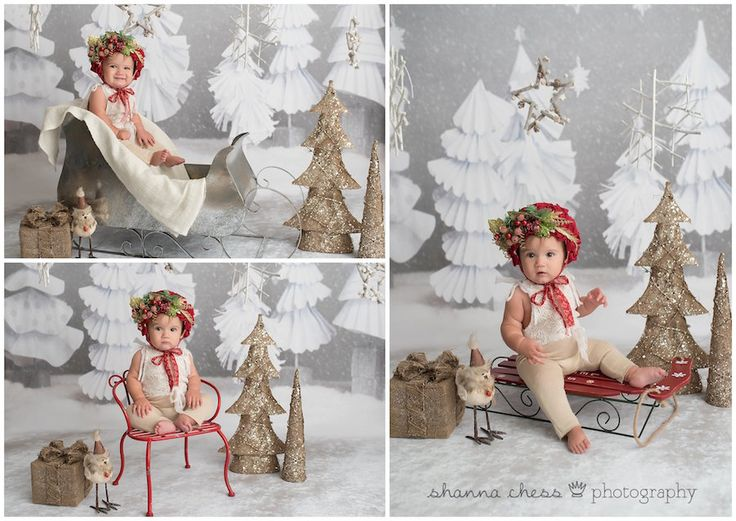 Eugene and Springfield, Oregon Baby and Child Photographer: Studio Christmas Mini Sessions