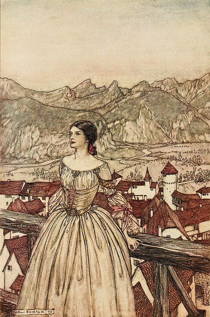 Arthur Rackham -- Fairytale Illustration                                                                                                                                                      More