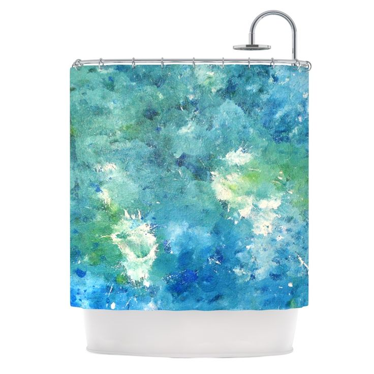 25 Best Green Shower Curtains Ideas On Pinterest