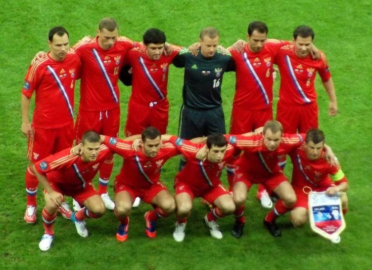 The Russia national football team at UEFA Euro 2012