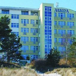 Das Arkona Strandhotel in Binz
