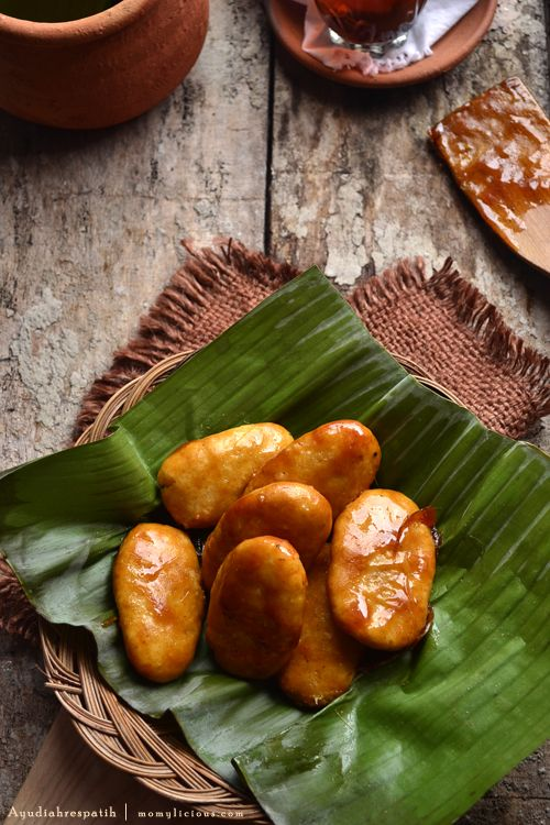 Gemblong - Sweet Glutinous Rice Fritter | mommylicious