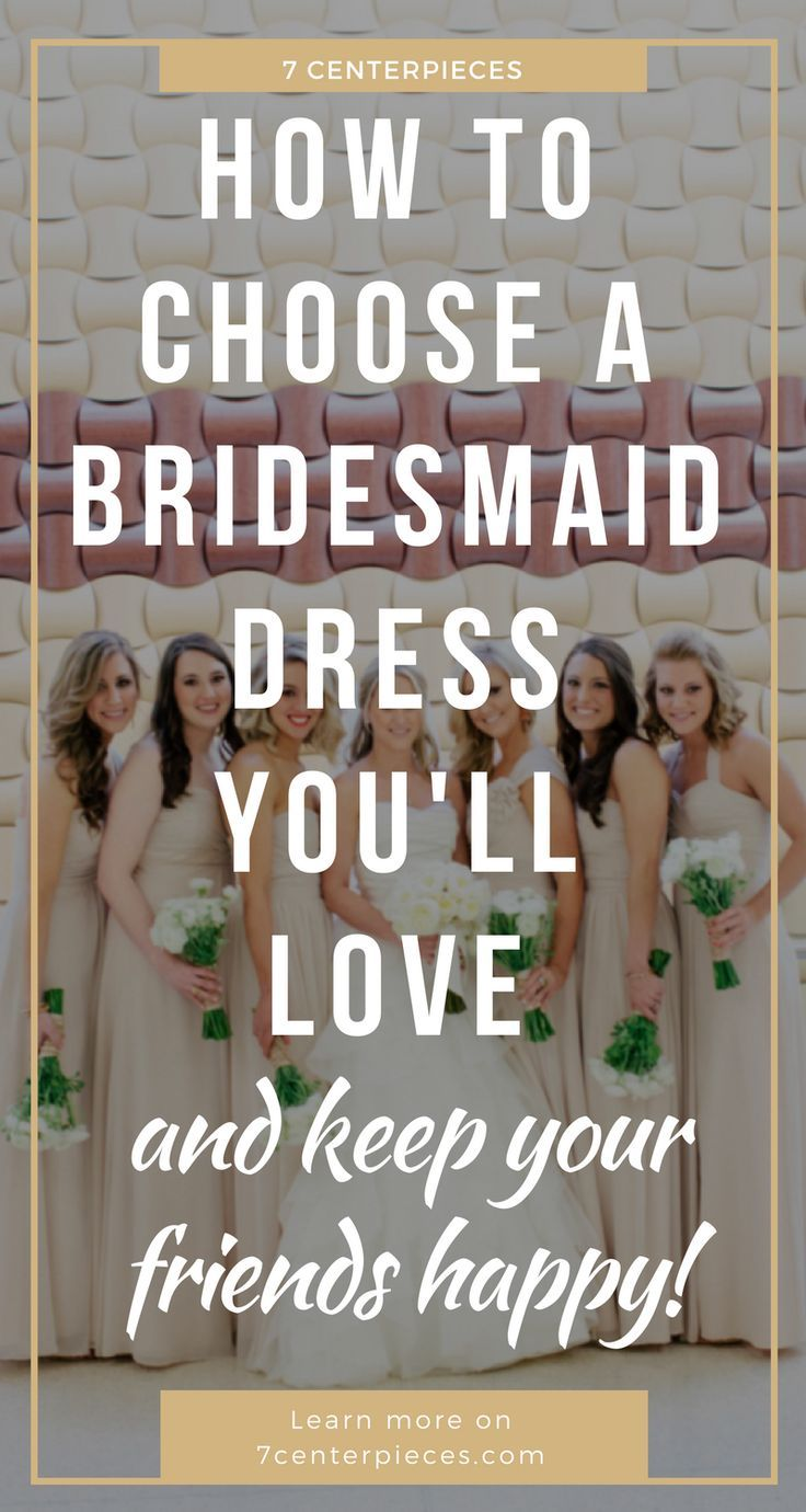 Choosing bridesmaid dresses that all my girls would love was so stressful. Long bridesmaid dresses, short bridesmaid dresses--where does one begin! I wish I had read this GREAT ARTICLE that contains so many practical tips. PIN IT NOW! You won't regret it! #bridesmaiddress