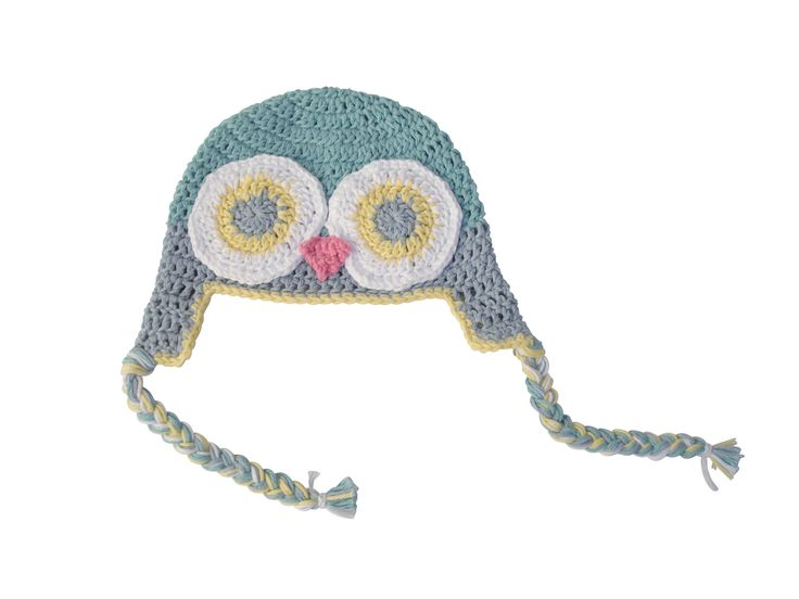 cappellino GUFO uncinetto cappello maschio bébé : Moda bebè di ilmondoditabitha