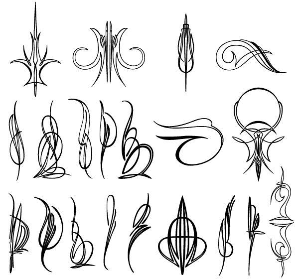 Pinstripe Design Png Vector Pinstripe Designs