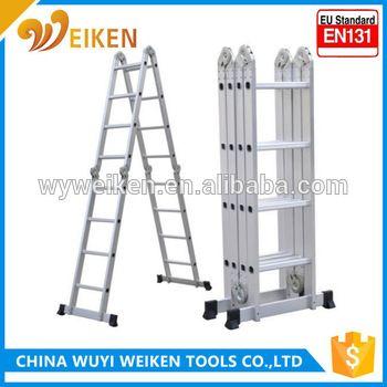 hot deals 4.7m multi purpose aluminium ladder