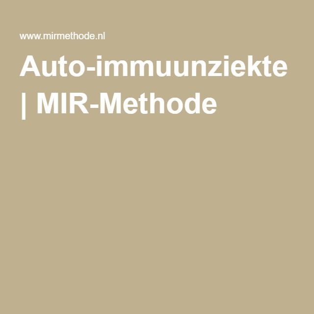 Auto-immuunziekte   MIR-Methode