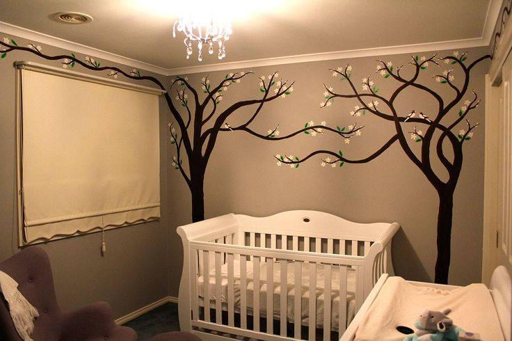 Night time in the Nursery...   #babyroom #babyroomideas #babyroommural #wallmural #tree #cherrytree #art #artist #artwork #australia #melbourne #instagood #instalike #interiors #painting #love  #interiordesign #architecture #decor  #modernart #design #contemporary #customart #abstractart #artforsale #bespoke #commercialart #studio #studioart #melbourneartist #nursery