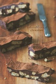 la pancia del lupo: Shortbread chocolate
