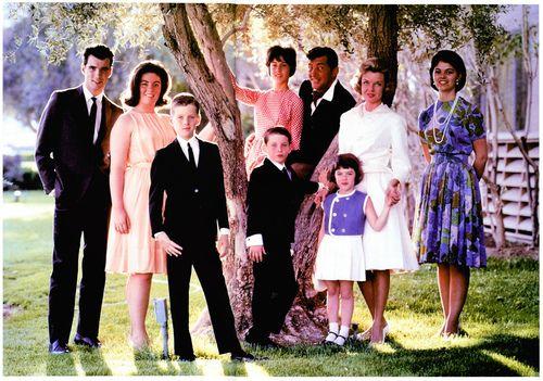 Dean Martin, family. #familyportrait #classic