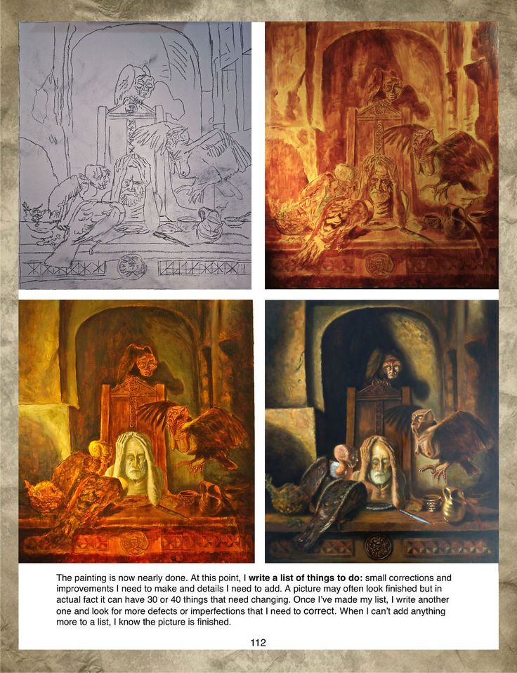 Fantastic Realism is a painting manual by Fabio E. N. Frau available on Amazon in English and Italian Edition.  http://www.amazon.com/Fantastic-Realism-Advanced-Materials-Techniques/dp/150781691X  http://www.amazon.it/Realismo-Fantastico-Avanzato-Processo-Materiali/dp/1507816979