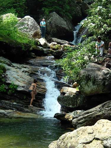 Skinny dipping swimming holes words