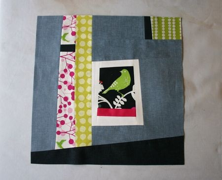 oh fransson... amazing quilt block using echino prints