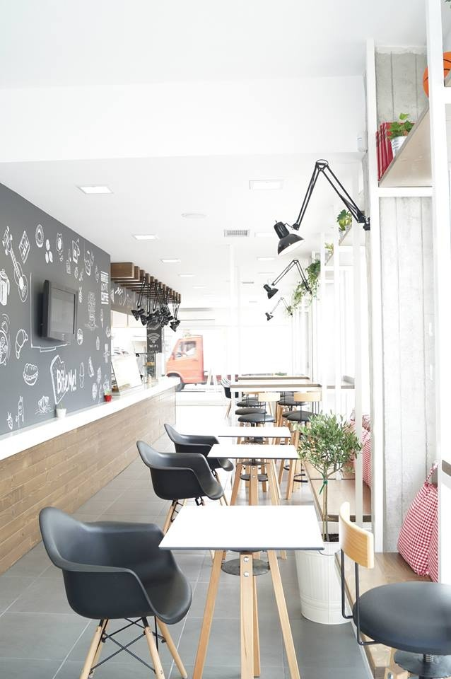 bite me! coffee & sandwich bar in Drama city Greece