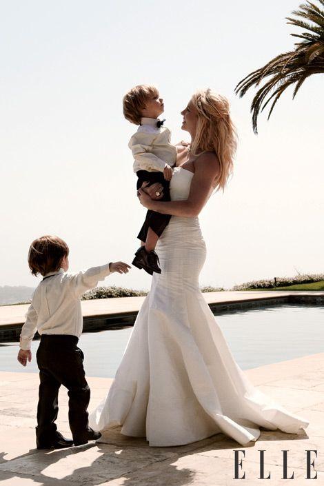 Britney Spears, Jayden James Spears-Federline, & Sean Preston Spears-Federline