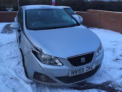 eBay: Seat Ibiza 1.4 Petrol 2009 5 door Spares or Repair No reserve #carparts #carrepair