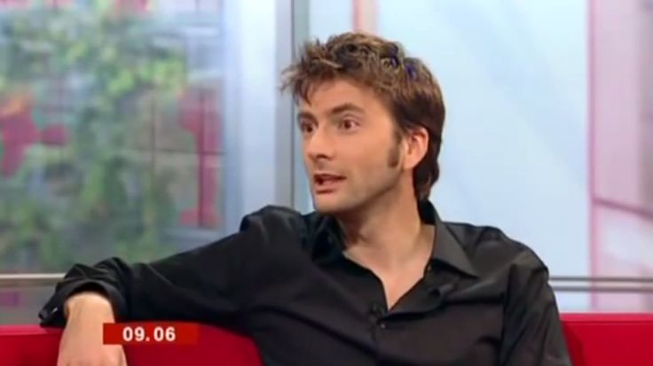 Ten Years Of New Who: VIDEO: David Tennant's First Live TV Interview As The Doctor