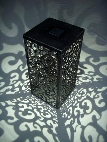 Shadows and Light Graycliff Solar LED Lantern