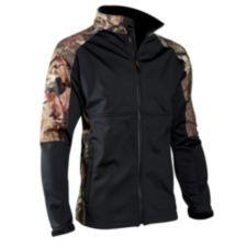 Veste coupe-vent avec enveloppe en tricot de polyester brossé silencieux avec membrane imperméable respirante | Canadian Tire