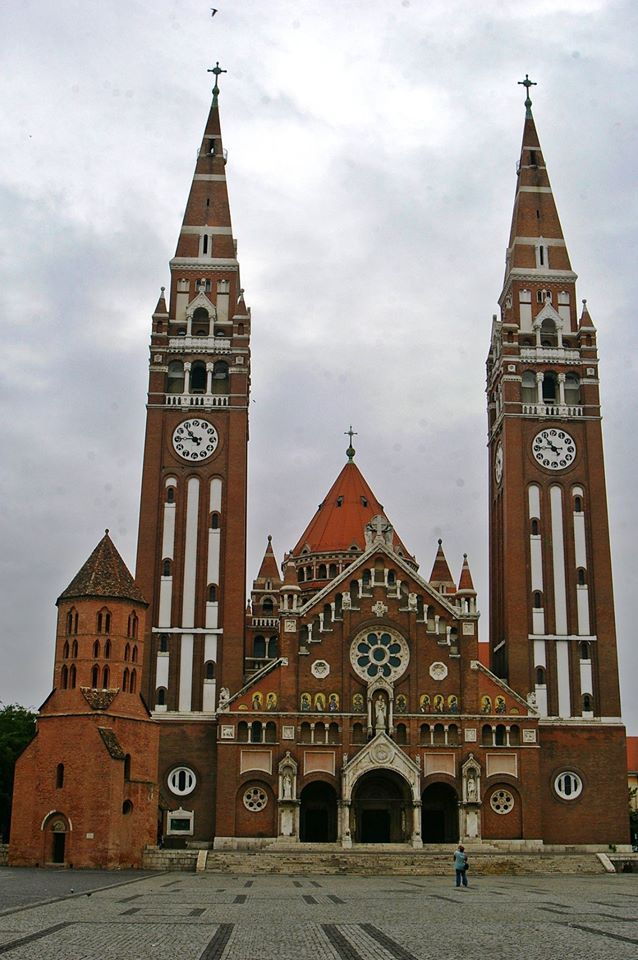 Szeged - Hungary.-The Cathedral the Votive Church - Build (1914-1930)