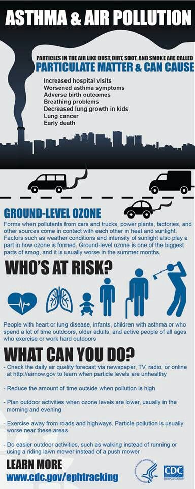 Asthma and Air Pollution - What we can do to make it better