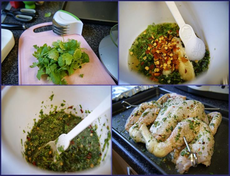 Zesty Lime and Coriander Spatchcock Chicken