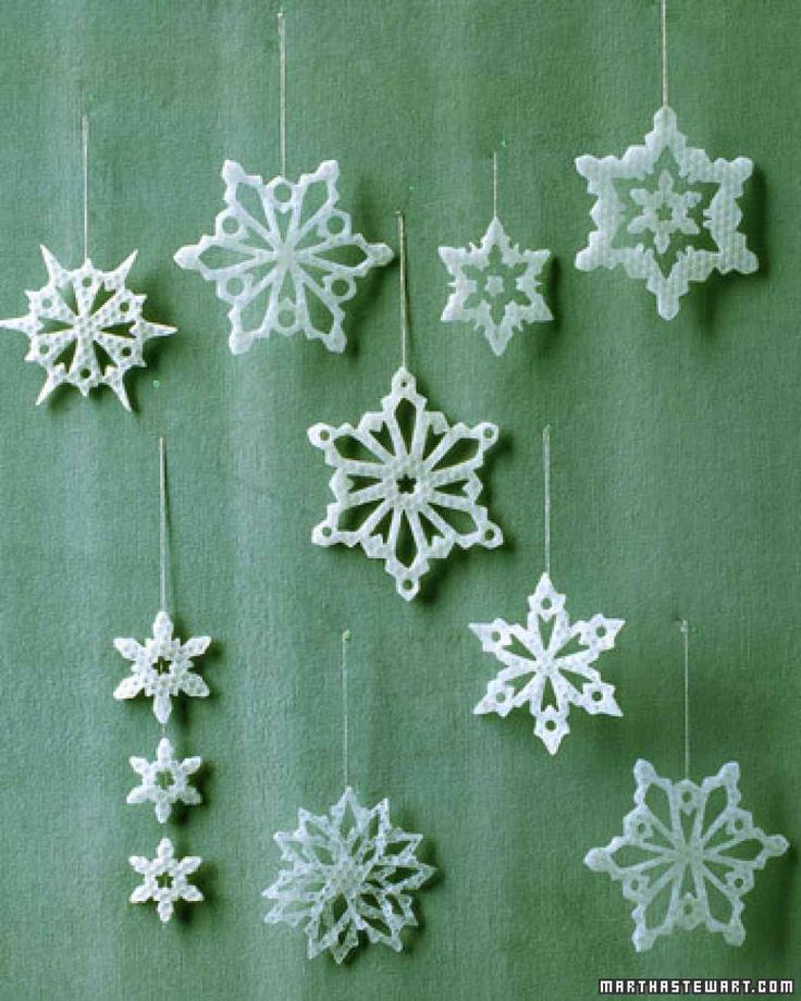 1000+ Images About Crafting Snowflakes On Pinterest