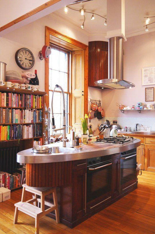 A Scottish Kitchen Made Out of Reclaimed Ship Parts — Kitchen Spotlight