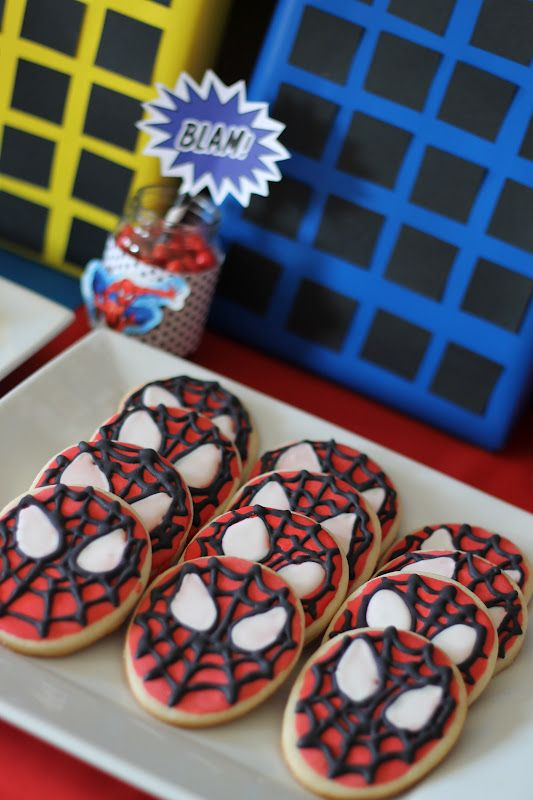93 best Party Spiderman FOOD images on Pinterest Birthday