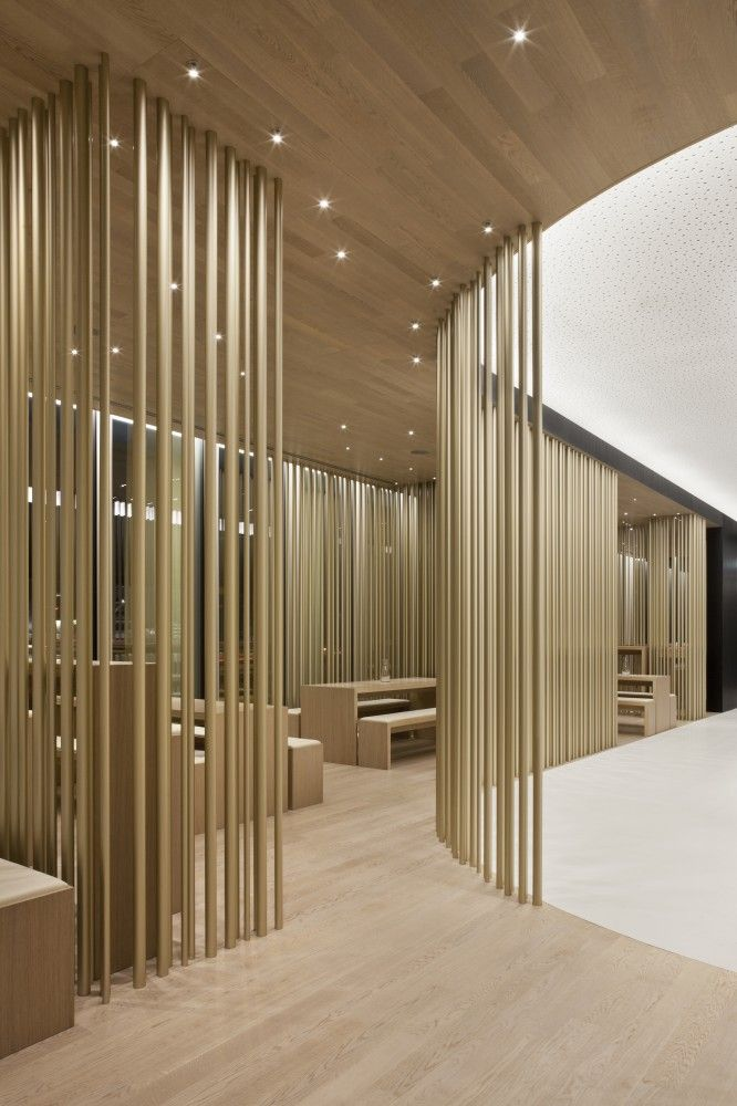 Interior Architectural Screen : Gallery of restaurant tour total leyk wollenberg