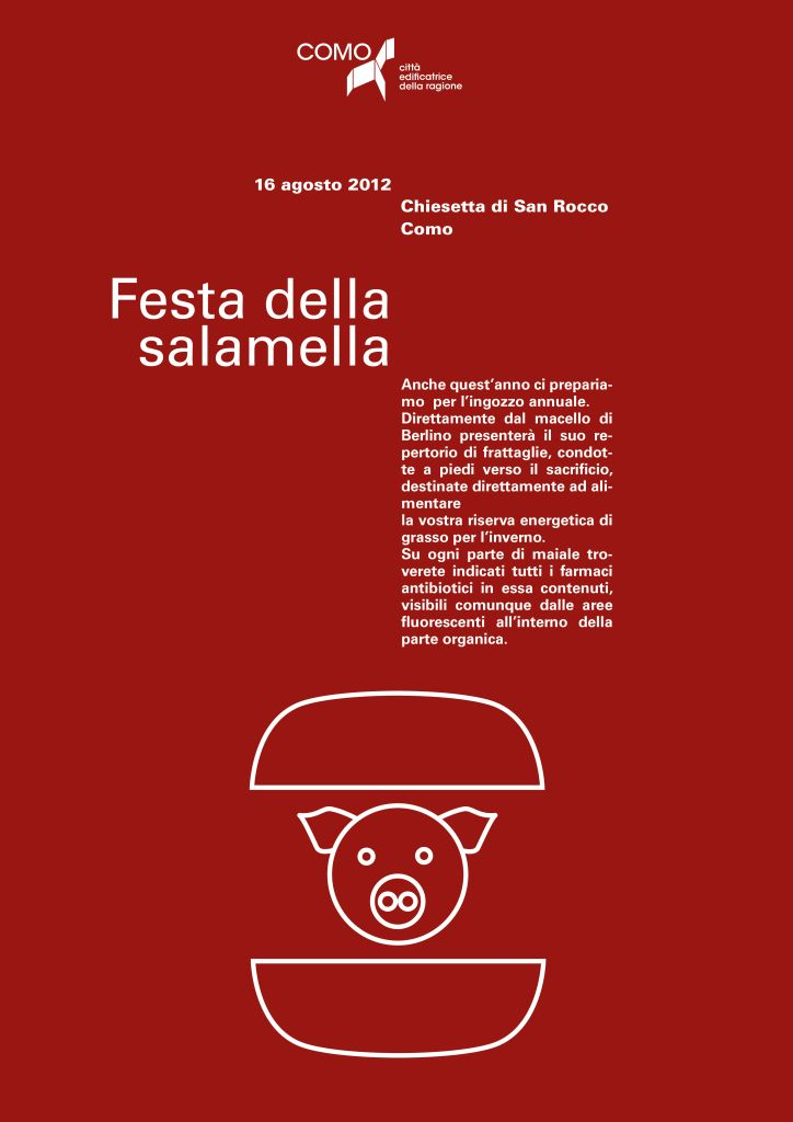 13 best poster images on pinterest poster posters and art director festa della salamella fandeluxe Choice Image