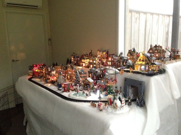 21 best images about My Miniature Christmas Village - in ...