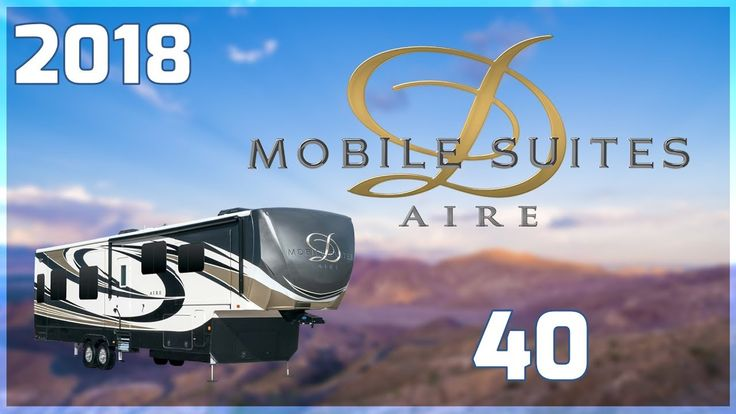 2018 DRV Suites Mobile Suites Aire 40 5th Wheel RV For Sale All Seasons RV Supercenter Buy this 2018 Mobile Suites Aire 40 now at http://ift.tt/2vTffUd or call All Seasons RV today at 231-760-8772!  Lightweight luxury in an attractive and feature-filled package with the new 2018 Mobile Suites Aire 40. Find yours today at All Seasons RV Supercenter!  This is a double-axle fifth wheel travel trailer with 4 slide outs fiberglass walls seamless 1-piece rubber roof and custom painted exterior…