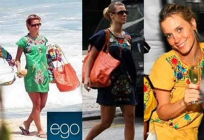 Carolina Dieckman Brazilian Model and actress with a simple but gorgeous art look