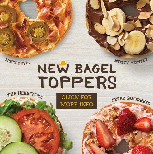 Fresh Bagels, Bagel Sandwiches, Coffee & Espresso | Einstein Bros Bagels