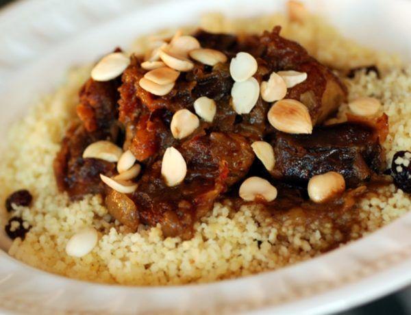 Moroccan Lamb And Date Tagine Recipe