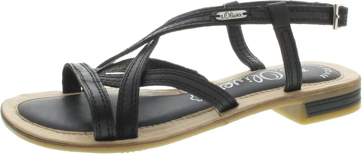 s oliver schuh germann schuhe sandaletten schwarz