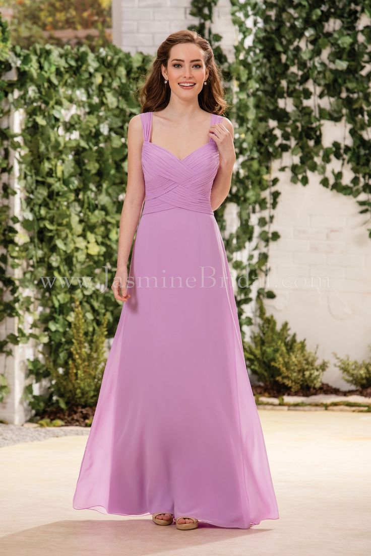 46 best fall 2016 bridesmaids images on pinterest jasmine bridal jasmine bridal bridesmaid dress b2 style b183058 in orchid ombrellifo Images