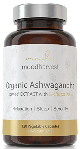 The Product KSM-66 ASHWAGANDHA (800mg) + L-THEANINE (200mg) -120 CAPSULES | Pure Organic KSM66 Ashwaganda Root Extract & L-Theanine Powder | Two Mood Enhancers for Stress Relief, Sleep Aid & Anti-Anxiety Support Can Be Found At - http://vitamins-minerals-supplements.co.uk/product/ksm-66-ashwagandha-800mg-l-theanine-200mg-120-capsules-pure-organic-ksm66-ashwaganda-root-extract-l-theanine-powder-two-mood-enhancers-for-stress-relief-sleep-aid-anti-anxiety-support/