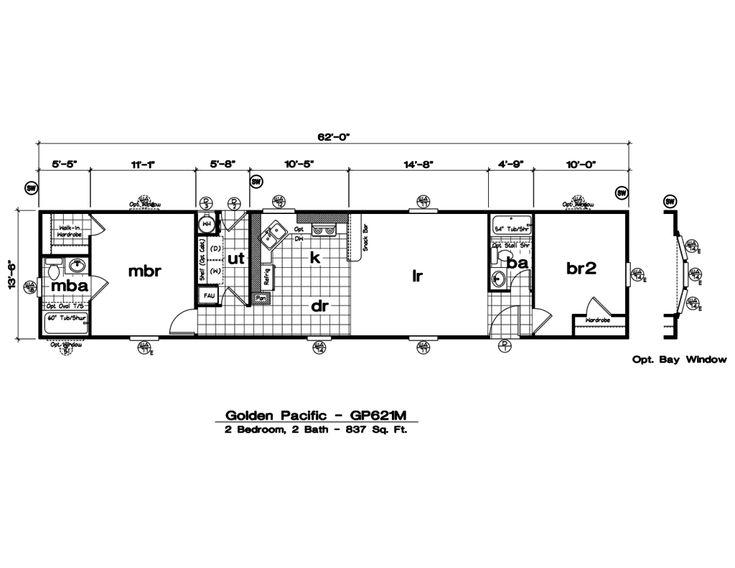 2003 Oakwood Mobile Home Floor Plans