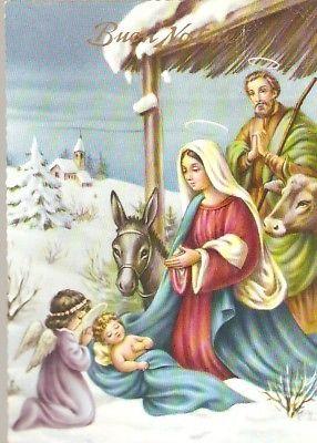 Buon Santo Natale.Cartolina Auguri Buon Natale Spedita Ma Priva Di Bollo