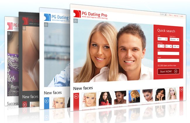 create own dating website