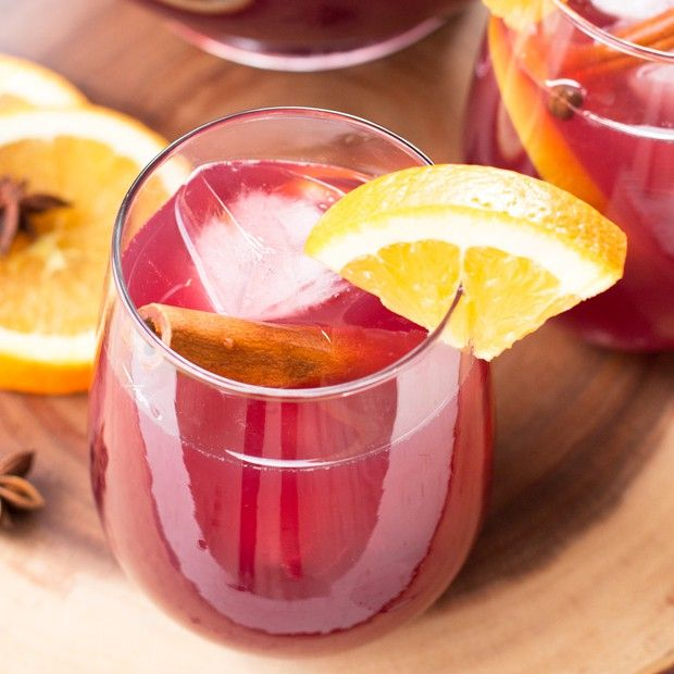 After tasting this Big Batch Holiday Sangria you'll never need another sangria recipe for the rest of your life, holidays or not!