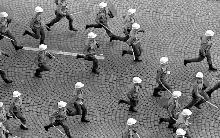 In Czechoslovakia, there were more demonstrations in August, marking the actual anniversary of the 1968 invasion. The first cracks were appearing in communist rule.
