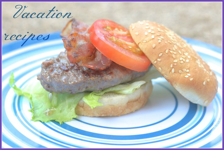 Hamburger with bun the luxe