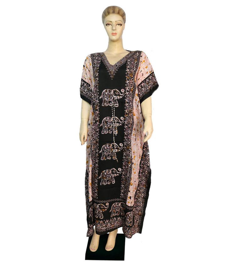 Indian Cover Up Party Wear Free Size Any Season Dress Beach Casual Wear Kaftan  #Unbranded #KaftaanBeachDressMaxi #Casual