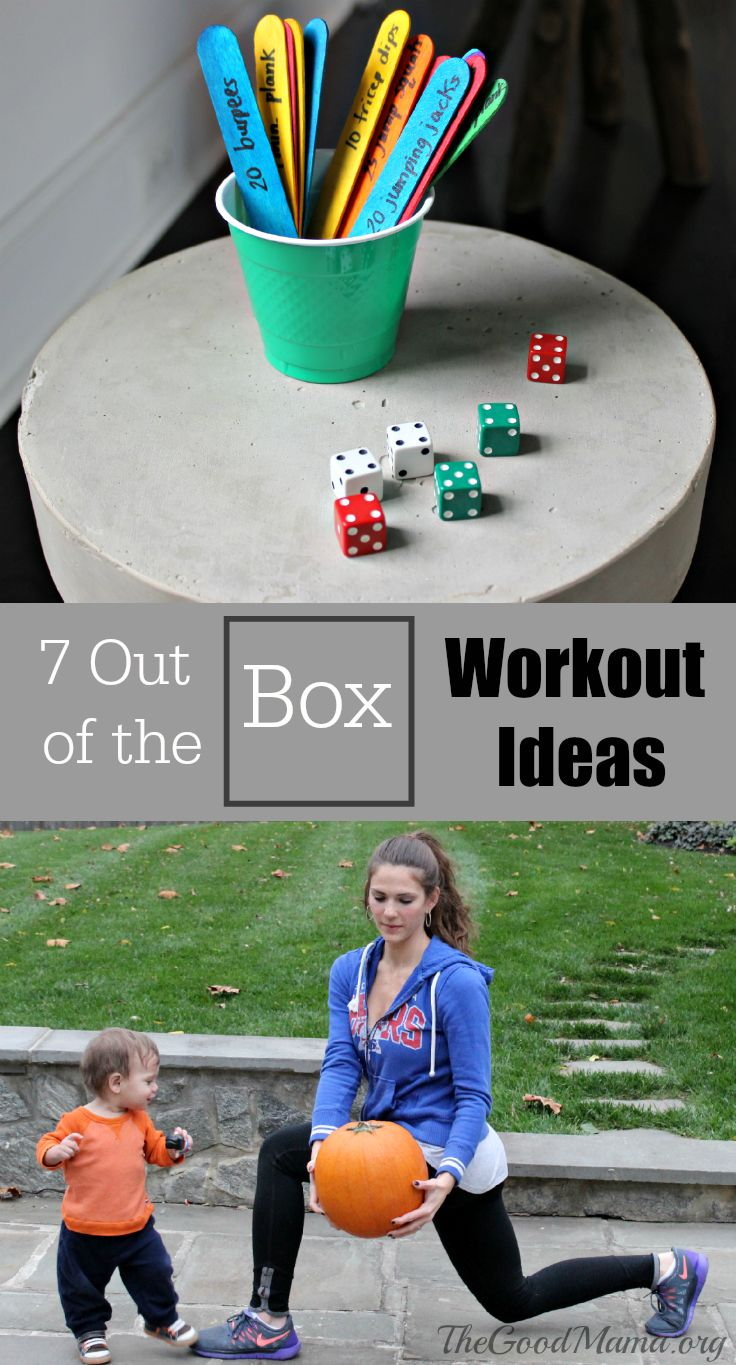 7 Out of the Box Workout Ideas
