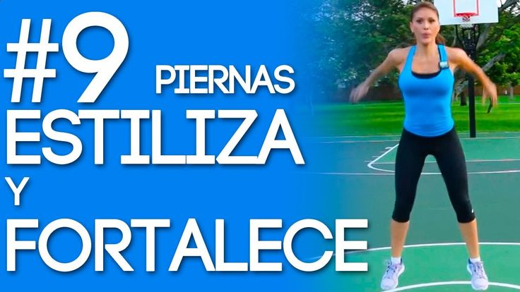 Estiliza y Fortalece Tus Piernas Con La Rutina #9 del Reto Quemando Y Go...